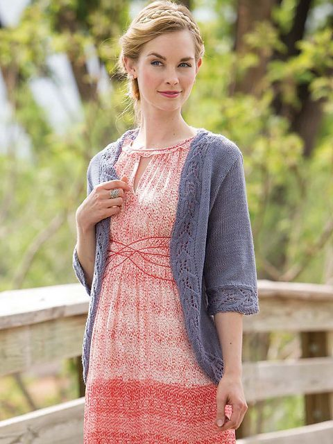 Temple Cable Edged Cardigan Knitting Pattern Download Merino Wool