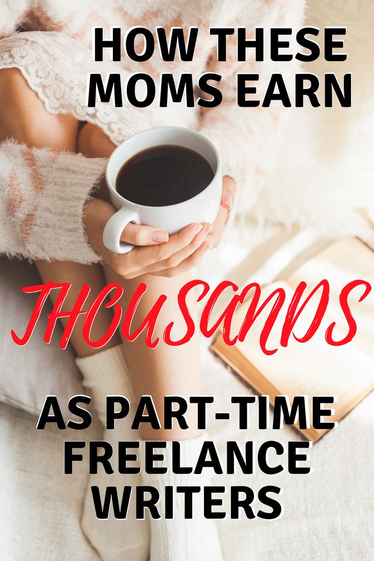 Freelance writing from home is an awesome choice for Moms looking to earn more and scale into bigger careers. Here's how these Moms did it (one is a single Mom, another is a mom to EIGHT, and another has twins!)  #freelance writing #wahm #money