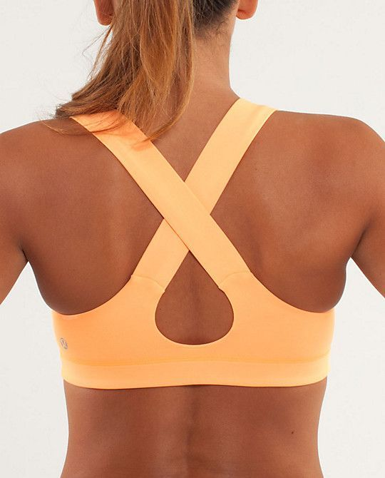 Best 25  Orange Sports Bras ideas on Pinterest | Lululemon shorts ...