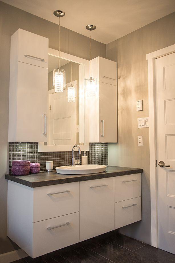salle de bain moderne salle de bain pinterest. Black Bedroom Furniture Sets. Home Design Ideas