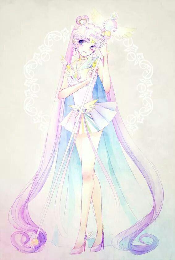 Sailor Cosmos from sailor moon