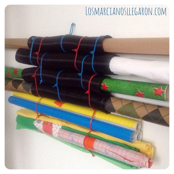 402 best images about reciclaje on pinterest diy - Organizador de papeles ...