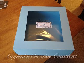 Crystal's Creative Creations: How to Make your Own Cake/ Cupcake Box- Tutorial