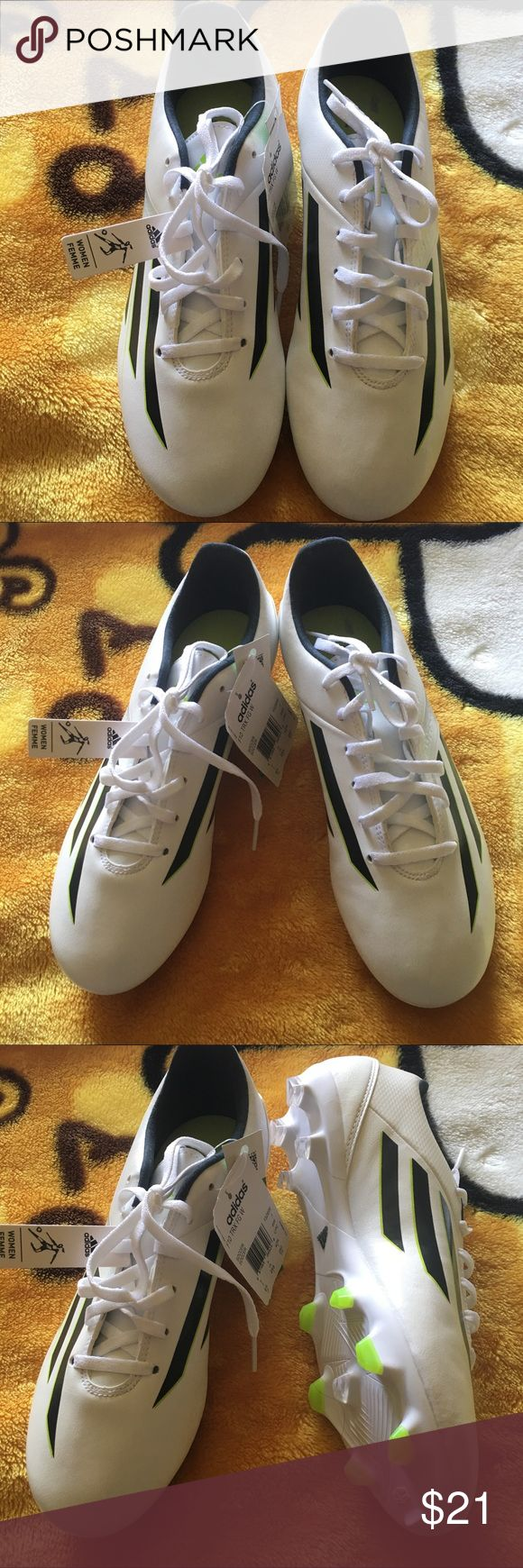BNWT Women's adidas soccer cleats shoes size 8.5 BNWT Women's adidas soccer cleats shoes size 8.5 adidas Shoes Athletic Shoes