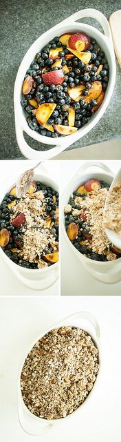 Blueberry Peach Crisp / foodloveswriting.com by Food Loves Writing, via Flickr