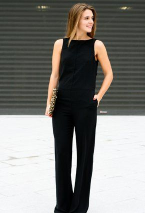 I love a good jumpsuit. Sexy staple.