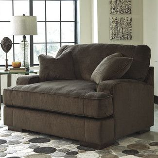 Bisenti Chair and a Half and Ottoman | Wayfair