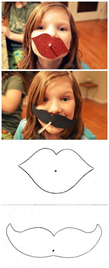 AdChoices|Advertise|Privacy             Posted by: Jenny On the Spot16 CommentsArtsy Fartsyarts, craft, lips, mustache, valentines day L...