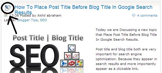Add Image or Icon Before Every Blog Post Titles | All Blogging Tools