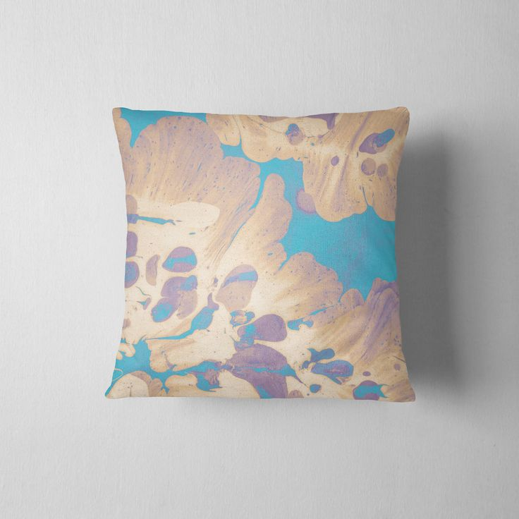 """Luxury Cushion, Throw cushion, Scatter Cushion, Personalised Pillow, Custom Pillow, Decorative Pillow - """"Turquoise twist"""" by BeforethePresent on Etsy"""