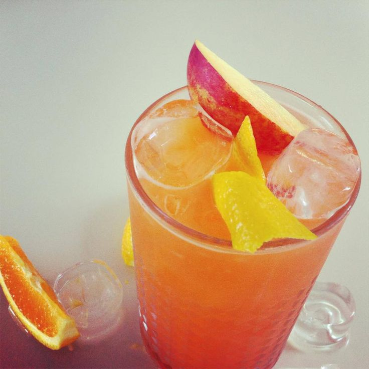 Sex on the beach- 2 shots vodka 2 shots peach schnapps 1 dash orange juice 1 dash lime juice 1 splash grenadine syrup