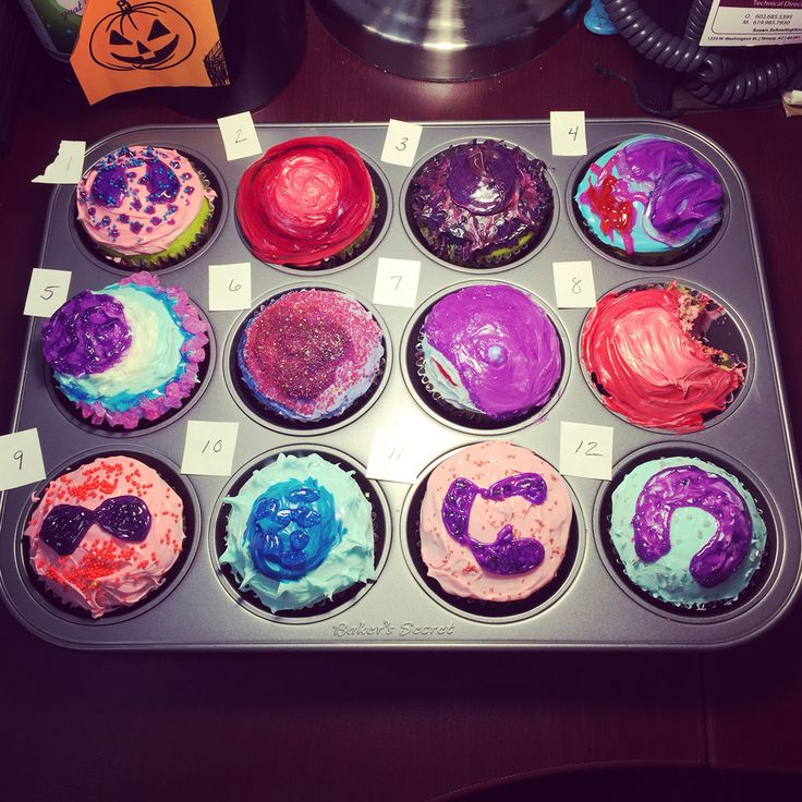 ASCP Lab Week 2015 Sonora Quest Flow Cytometry Department cell cupcake decorating contest. Can you identify the cells? Which is your favorite?
