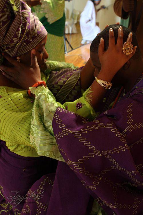 nigerian wedding   Those colors!