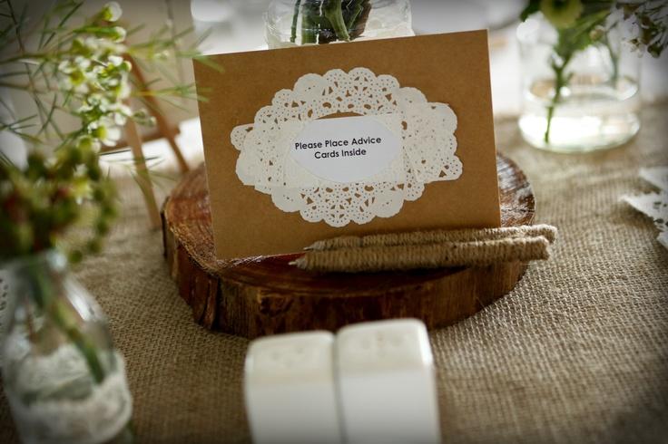 Advice card envelopes