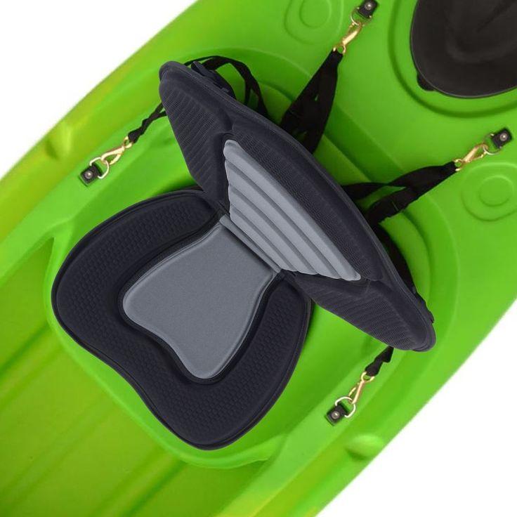 Deluxe Kayak Seat Sit On Top Padded Backrest Back Canoe Sports Back Detachable  #HOMCOM
