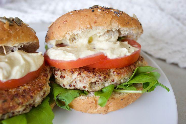 Cauliflower and Quinoa Burger Patties