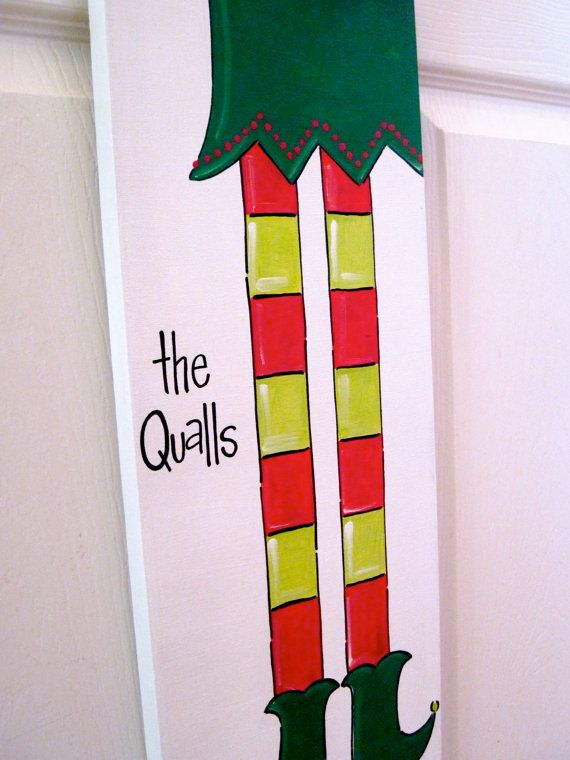 Christmas Canvas: Decor Ideas, My Daughter, Christmas Holidays, Decorating Ideas, Christmas Ideas Crafts, Christmas Canvases Thi, Elf Canvas, Christmas Canvases Long, Christmas Subway Art