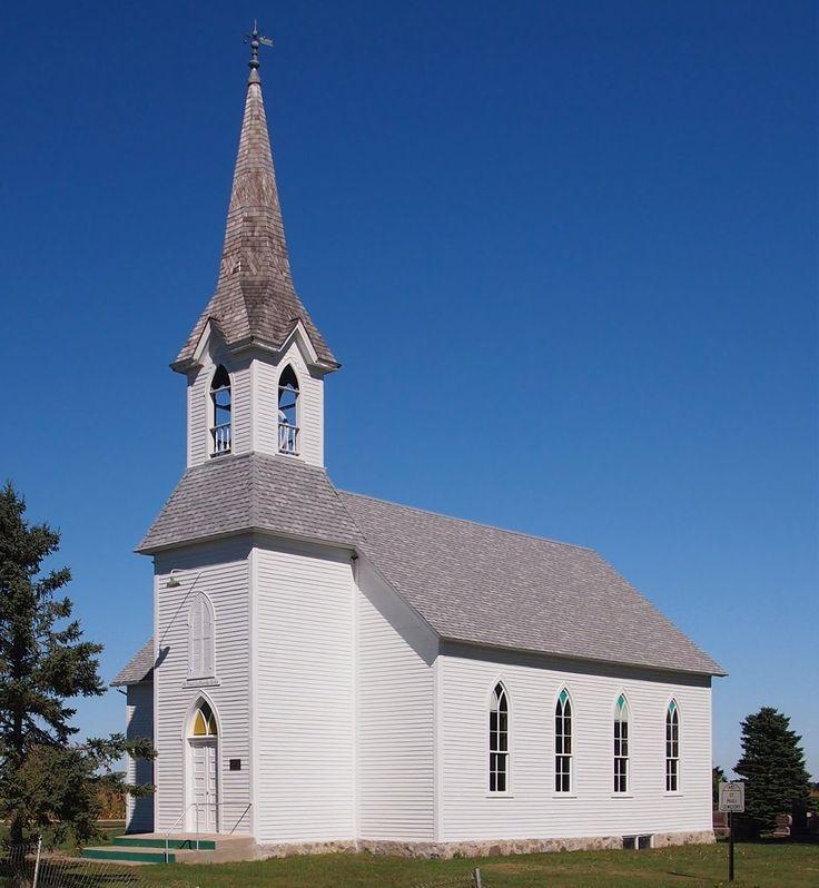 St. Pauli Norwegian Evangelical Lutheran Church In Rural