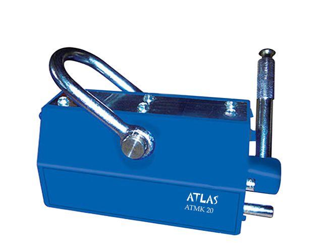 Atlas manyetik kaldıraç, atmk 20 model. 2 ton yük taşıma kapasiteli mıknatıslı kaldıraç. #atlas #magnetic #kaldirac #miknatis #lifter #lifting  http://www.ozkardeslermakina.com/urun/miknatis-yuk-kaldirma-miknatislari-manyetik-kaldirac-atmk20/