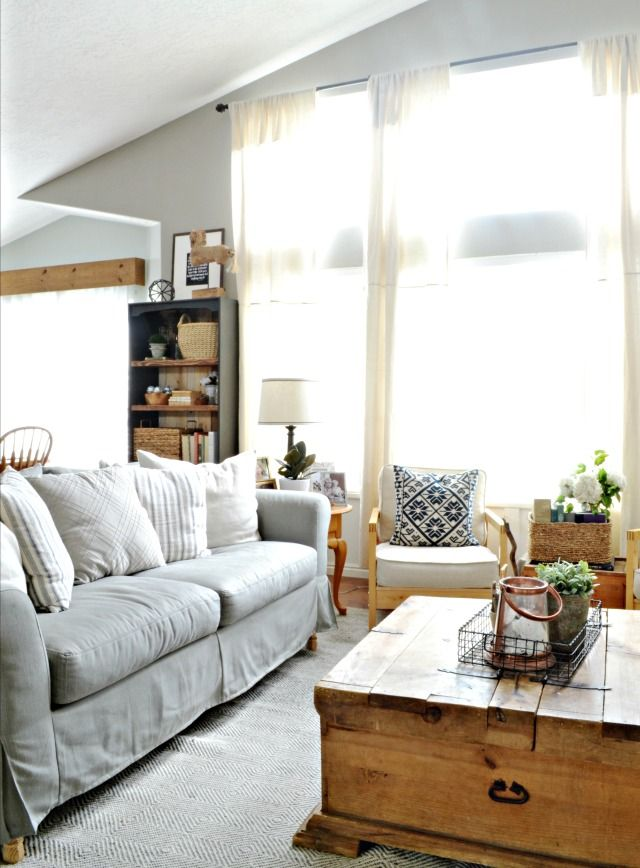 Transform the look of a room with new custom slipcovers. A Comfort Works review | MyFabulessLife.com