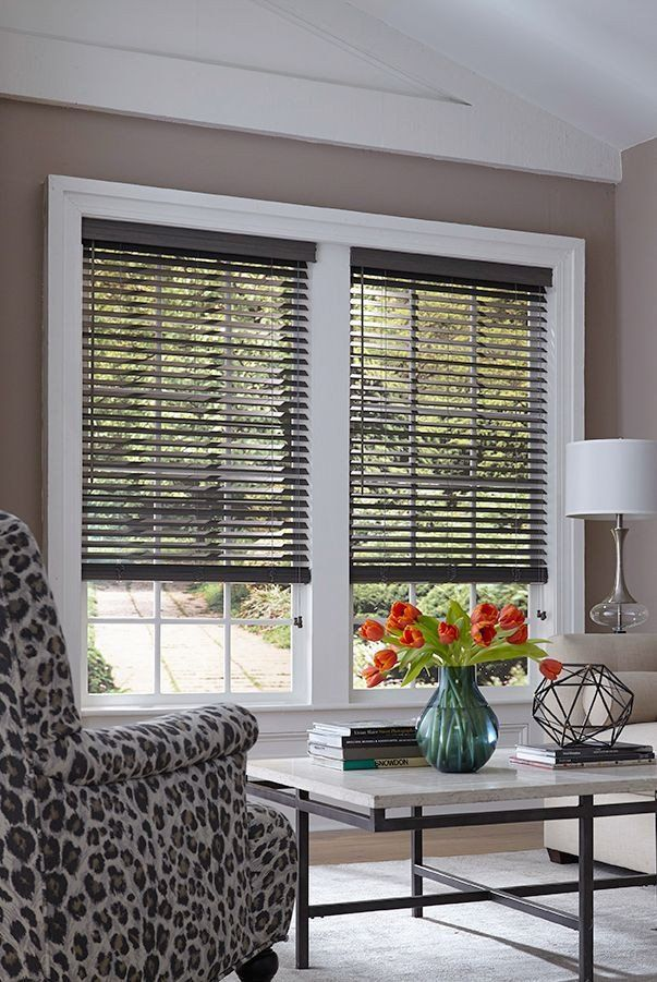 Modern Living Room Blinds 2 Architectural Wood Blind In 2020