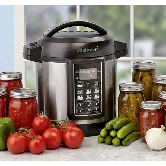 The Ball FreshTECH Automatic Home Canning System - Household Solutions - Capper's Farmer