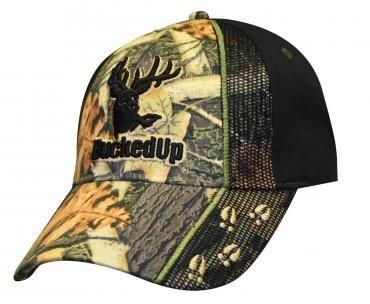 camo bucked up hat
