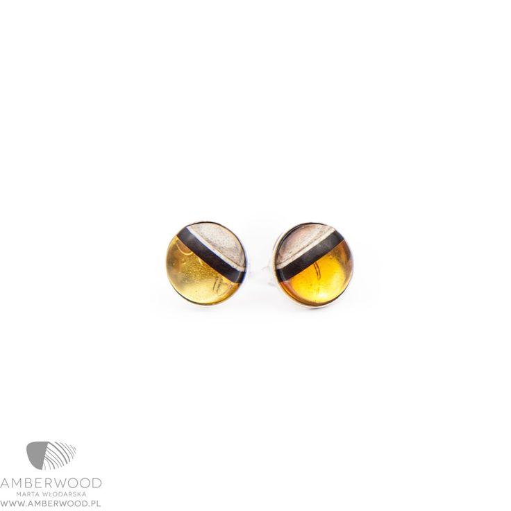 Earrings Amberwood ROUND 4