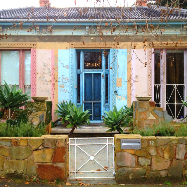 one of my favorite houses in #St Kilda, #Melbourne Australia