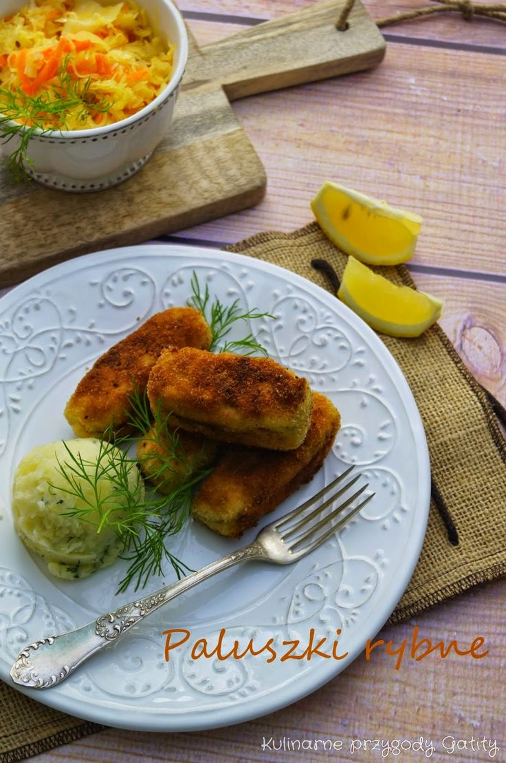Kulinarne przygody Gatity: Domowe paluszki rybne