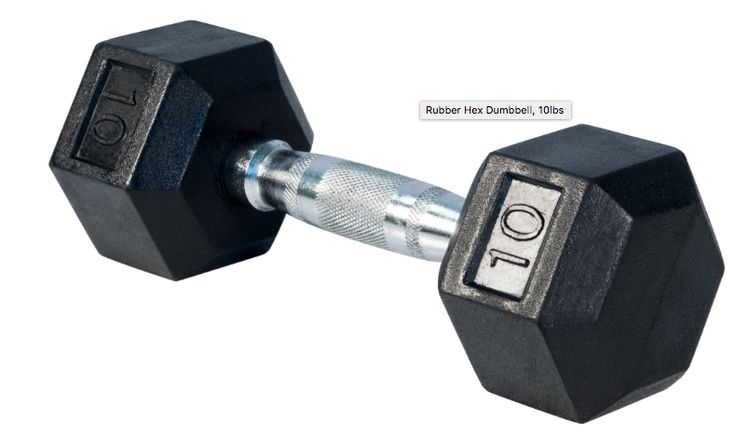 Northern Lights Rubber Hex Dumbbells!! Fitness depot in Victoria 2 x 10lbs 2 x 12lbs