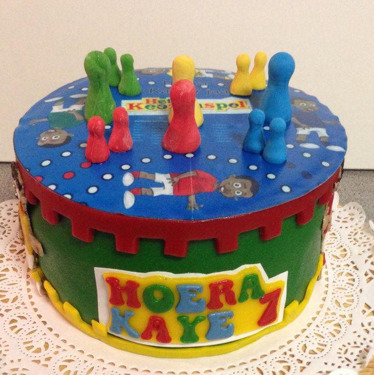 Keez taart voor Kaye