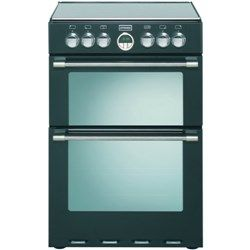 Stoves Sterling Mini Range 60cm Electric Cooker with Induction Hob in Black (444440995)