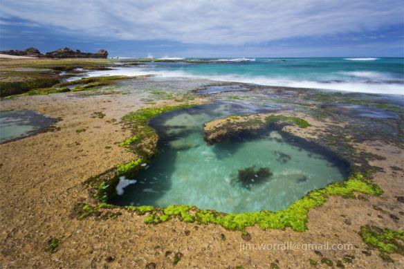 Sorrento back beach rock pools - Jim Worrall - Mornington Peninsula - Australia • rock pool Australia