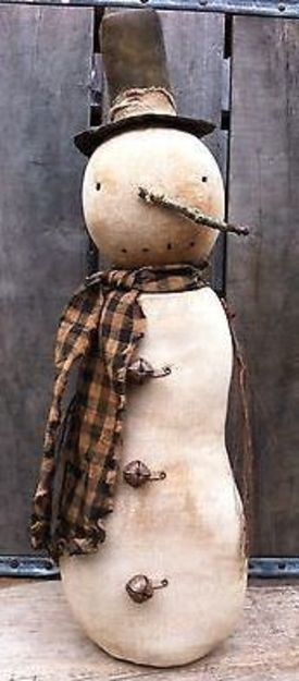 Primitive Snowman                                                                                                                                                                                 More