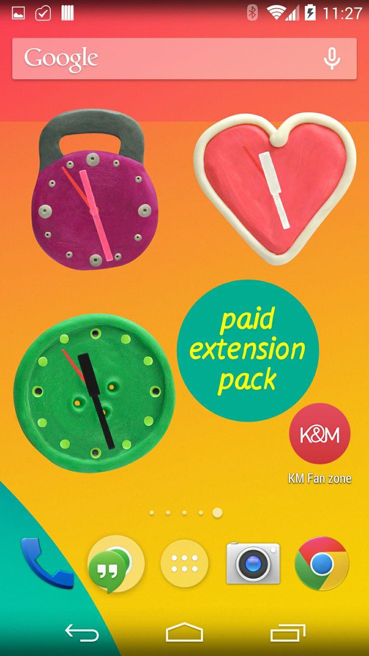 KM Plasticine widgets: Paid extension pack