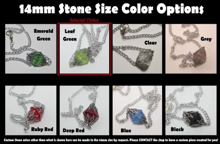 ручной работы смолвиль Лана Лэнг криптонит камень ожерелье в выбор размера или цвета