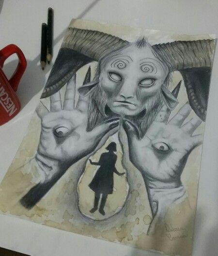 Pan's Labyrinth - Labirinto do Fauno - desenho - Drawing
