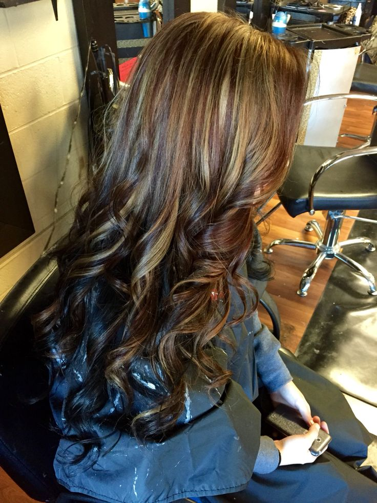 Love Mocha Brown With Ash Blonde Highlights And A