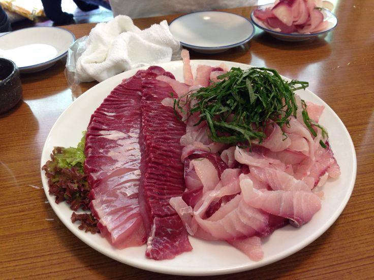 原養魚場の鯉料理