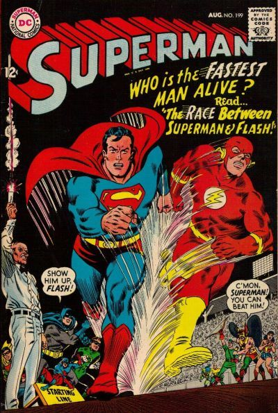 Superman is the best at everything.. and the Flash is the fastest person ever, but who would win in a race?