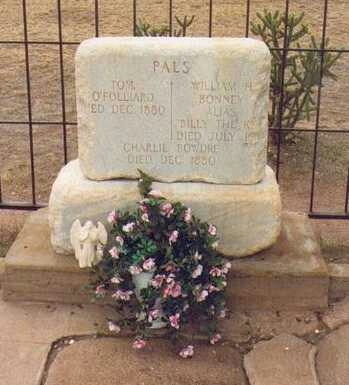 William H. Bonney aka Billy the Kid grave