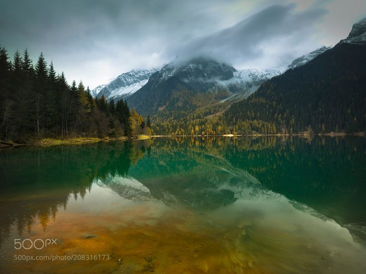 Antholzer See. Italy. by Maxwell_rus via http://ift.tt/2o0FMLm