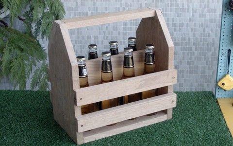 Engradado de madeira: faça você mesmo um lugar charmoso para transportar garrafas