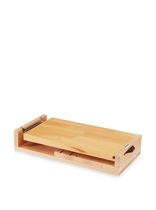 Artelegno Knife Block With Cutting Board, Natural