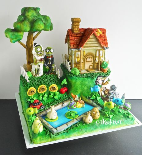 1000+ Images About Video Game Cakes On Pinterest