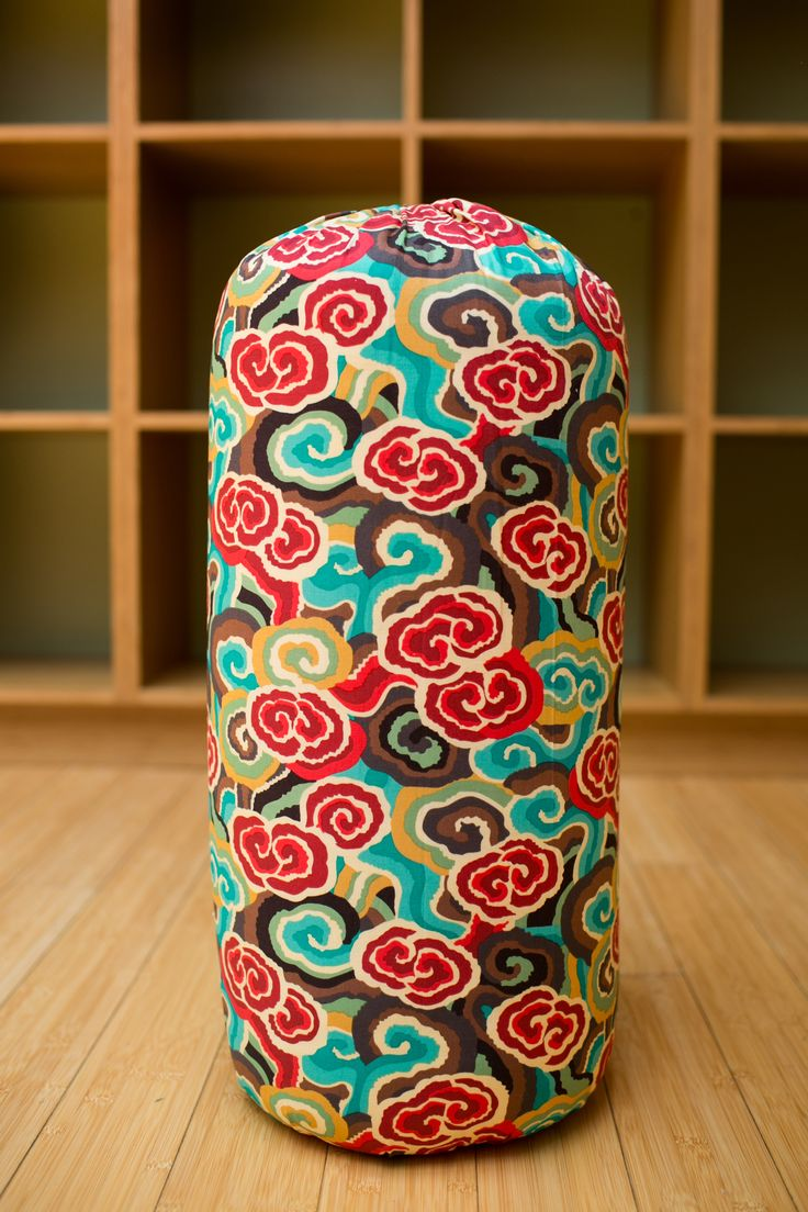 Himalaya Round Bolster by Inner Space Yoga & Meditation Supplies