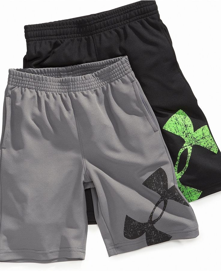 Under Armour Kids Shorts, Little Boys Power Up Shorts - Kids Boys 2-7 - Macy's