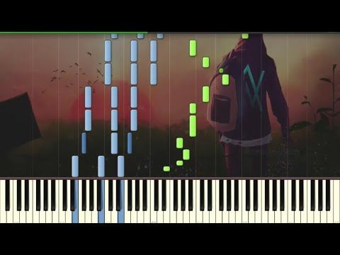 Alan Walker - Sing Me To Sleep (ft. Iselin Solheim) - Piano tutorial (Synthesia) - YouTube
