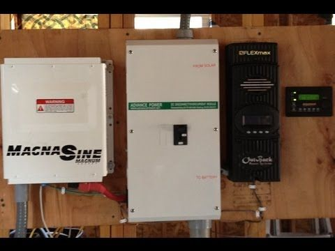 Solar Off Grid System Components Explained In Depth - YouTube